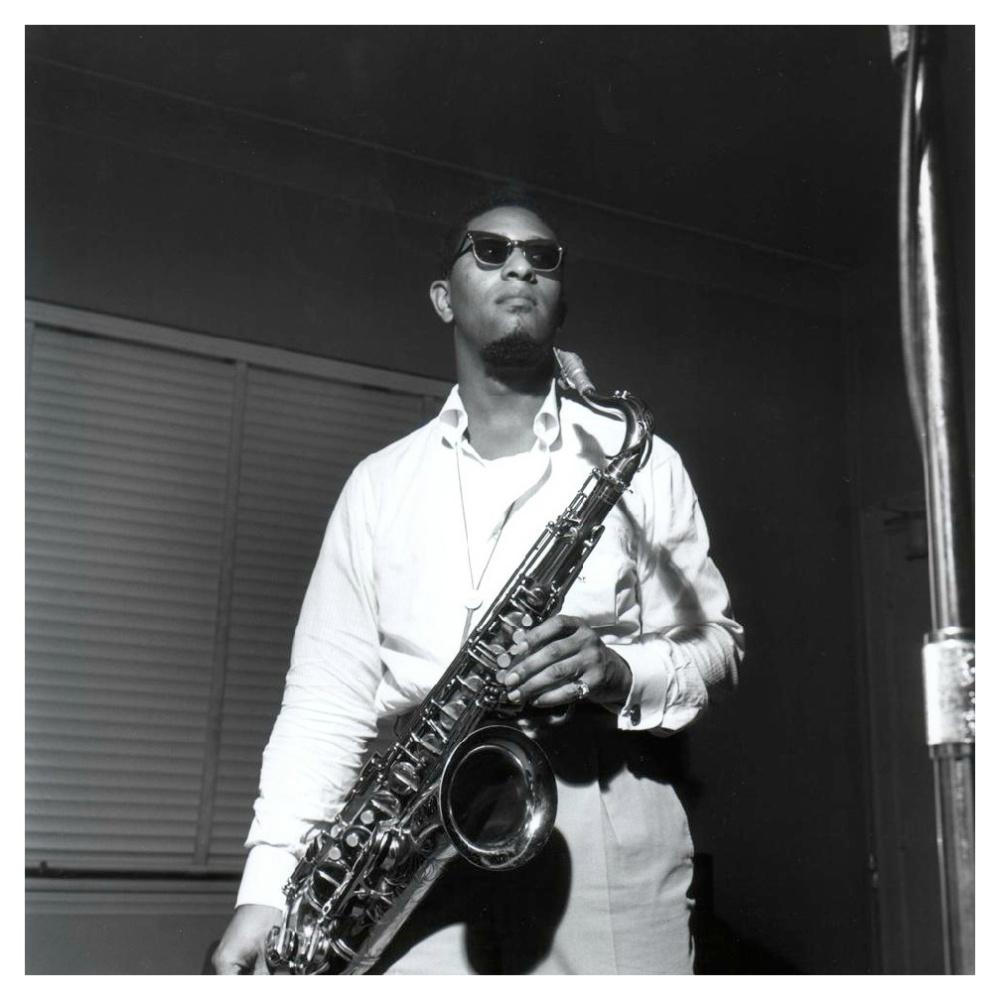 Sonny Rollins en 1957. (Foto de Francis Wolff)